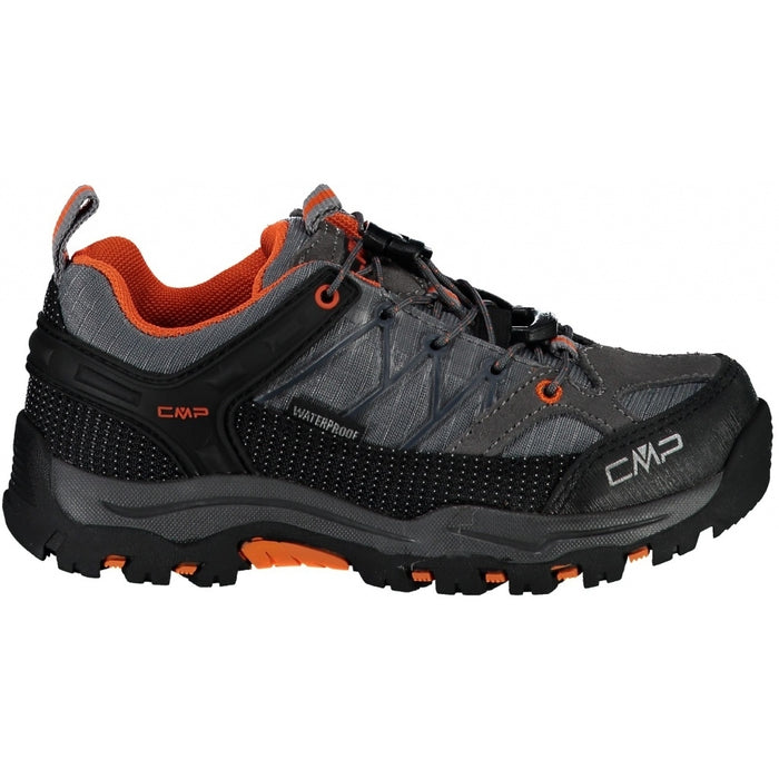 CMP Kids Rigel Low Trekking Shoe Boots 78UC Stone-Orange