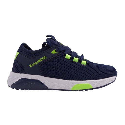 KangaROOS Kadee Sock Shoes 4054 Dk Navy/Lime