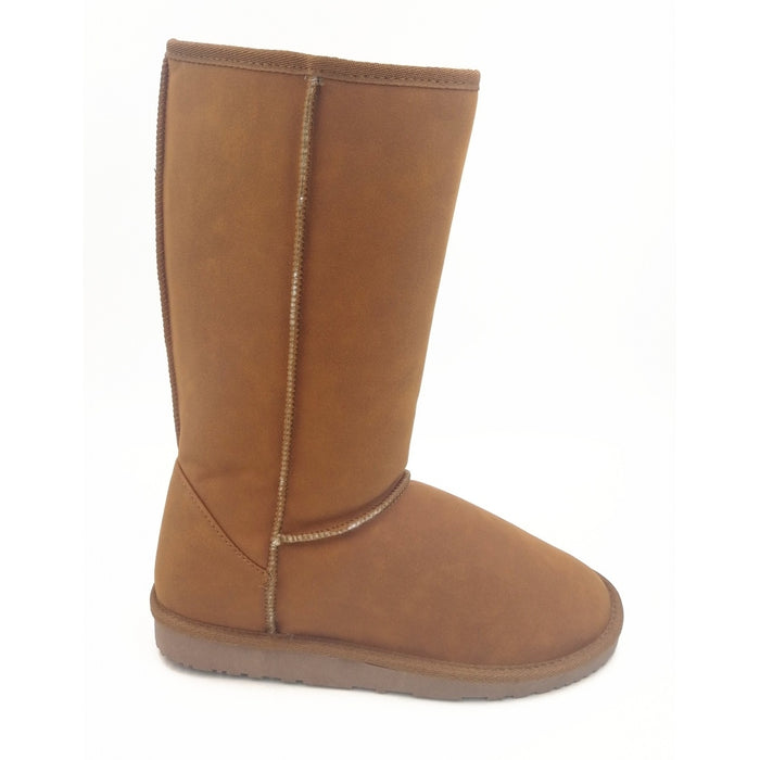 MOLS Luyar W Leather Boot Boots 5006 Sudan Brown