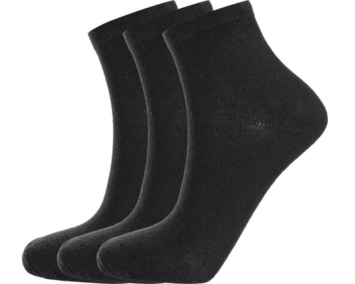 ENDURANCE Mallorca 3-Pack Sock Quarter Socks 1001 Black