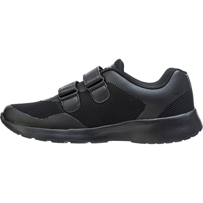 ENDURANCE Metou Lite Shoe velcro Shoes 1001S Black Solid