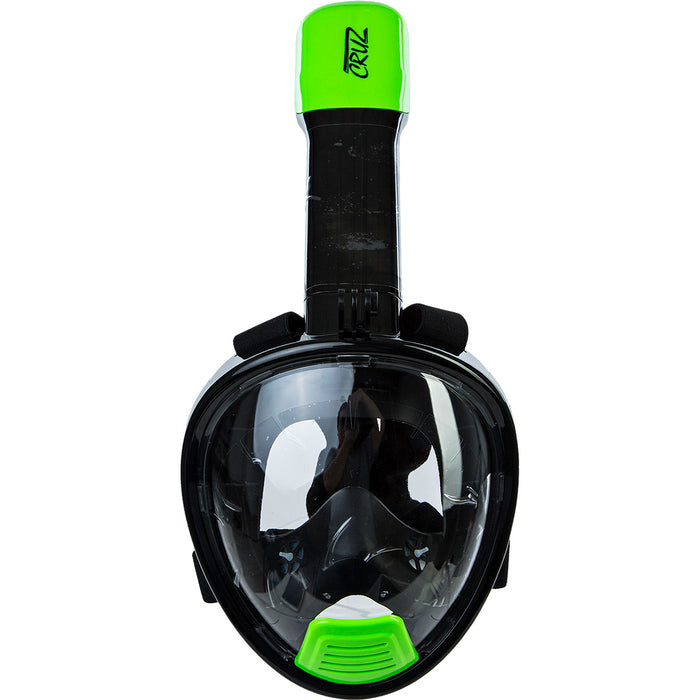 CRUZ Mobula Ray Kids Full Face Mask Swimming equipment 3002 Green Gecko