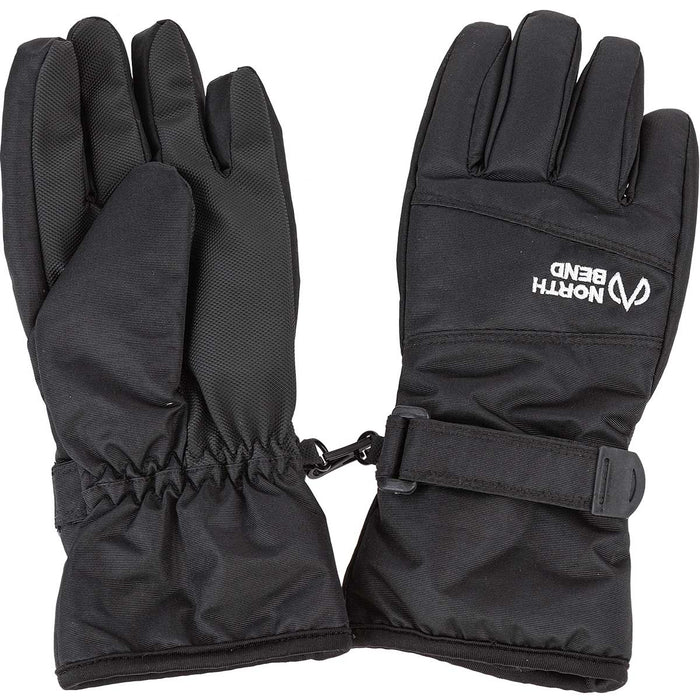 NORTH BEND NORTH BEND GUARD SKI GLOVE JR Gloves 500 Black - NB