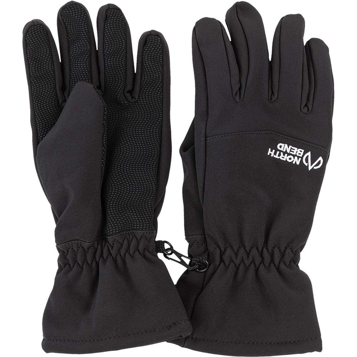 NORTH BEND NORTH BEND SOFTSHELL GLOVE JR Gloves 500 Black - NB