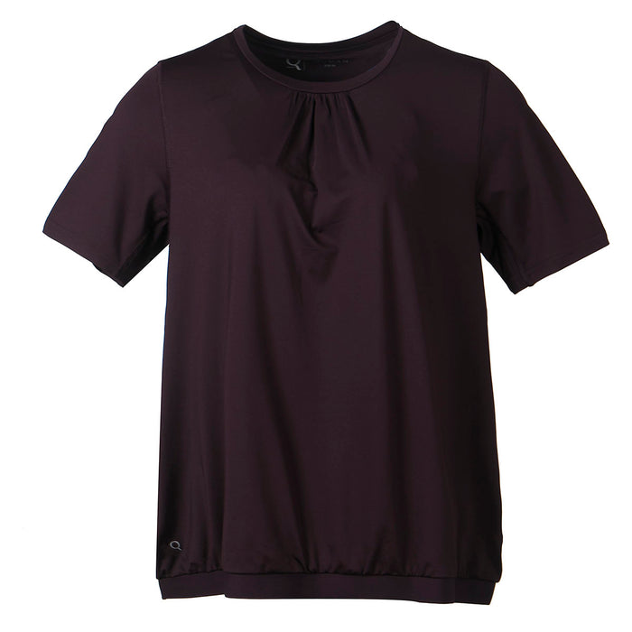 Q Nella W SS Tee T-shirt 4150 Purple Grape