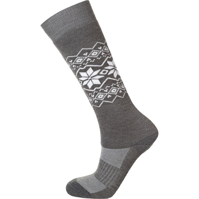 ENDURANCE Ossar W Wool Jacquard Sock Socks 1005 Light Grey Melange