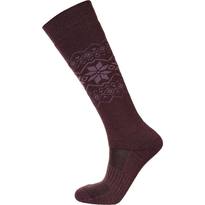 ENDURANCE Ossar W Wool Jacquard Sock Socks 4150 Purple Grape
