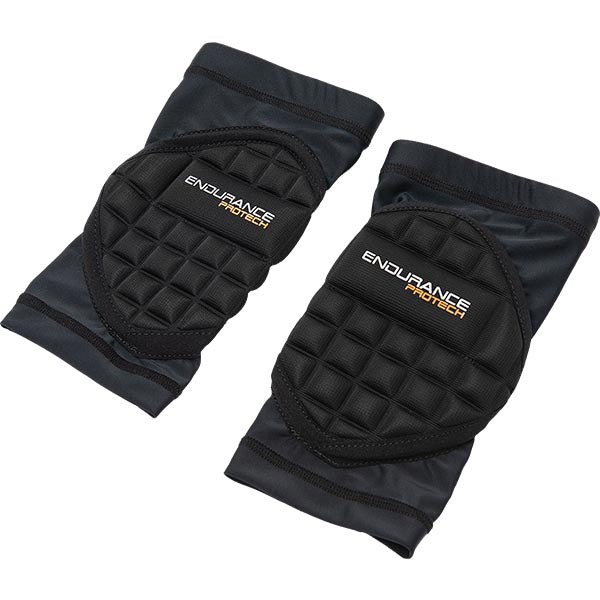 ENDURANCE PROTECH Knee Protection Jr. (2pcs) Protection 1001 Black