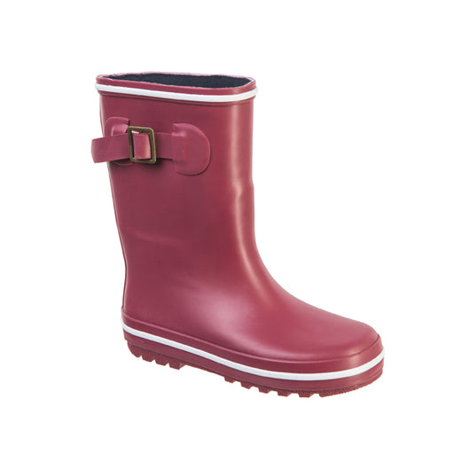 GRAFFITI Puddle Kids Rubber Boot Boots 4055 Beet Red