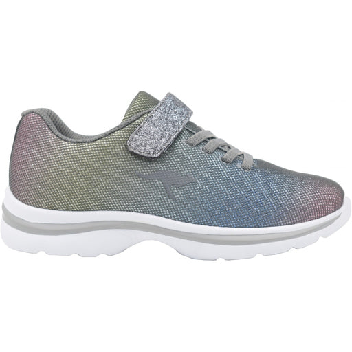 KangaROOS Kangashine EV II Shoes 2129 Steel Grey/ Rainbow