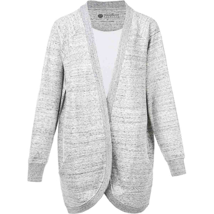 ATHLECIA Reicy W Sweat Cardigan Sweatshirt 1005 Light Grey Melange