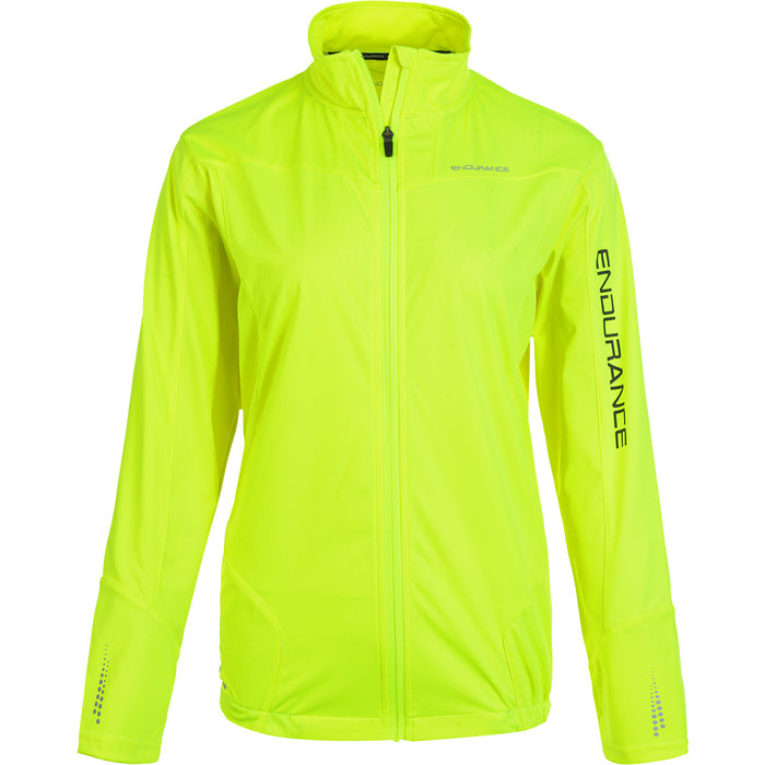 ENDURANCE Ziva W Membrane Cycling L/S Jacket Cycling 5001 Safety Yellow