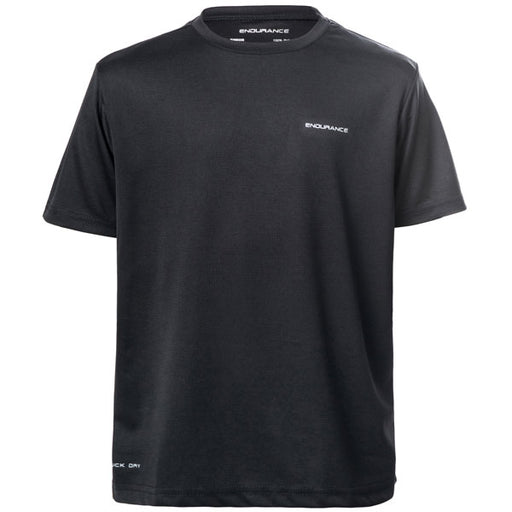 ENDURANCE Vernon Jr. S/S Performance Tee T-shirt 1001 Black
