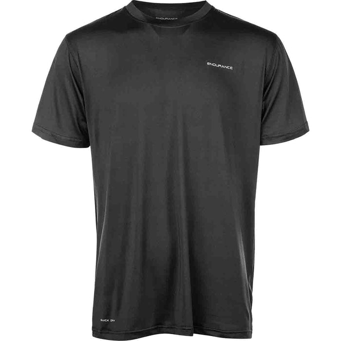 ENDURANCE Kulon M S/S Performance Tee T-shirt 1001 Black