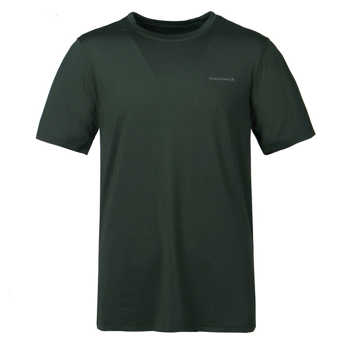 ENDURANCE Kulon M S/S Performance Tee T-shirt 3053 Deep Forest