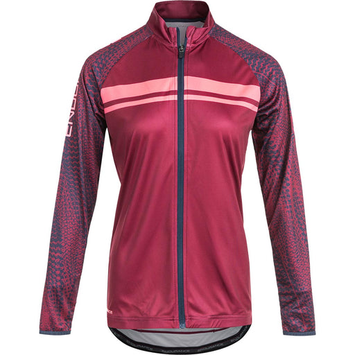 ENDURANCE Wellsie W Cycling L/S Shirt Cycling 4132 Tawny Port