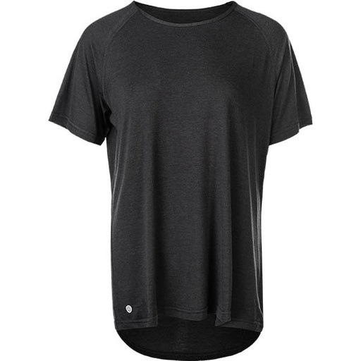 ATHLECIA Suriga W Melange Loose Fit Tee T-shirt 1011 Dark Grey Melange