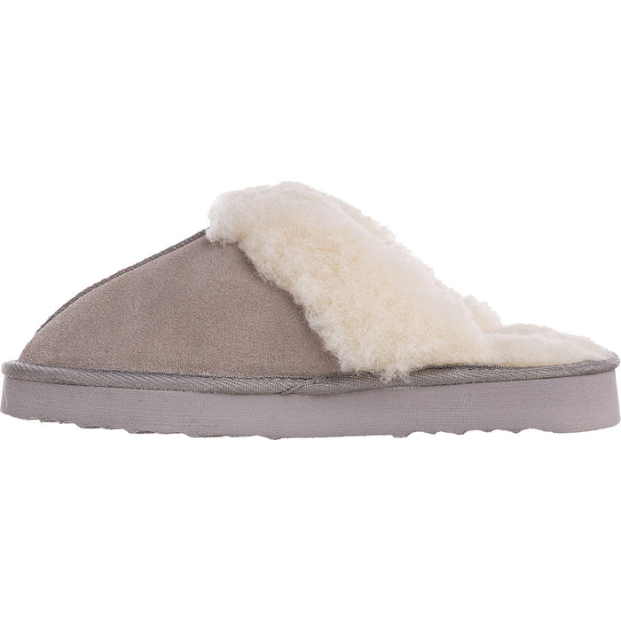 MOLS Tamara W Warm Slipper Shoes 1060 Chateau Gray