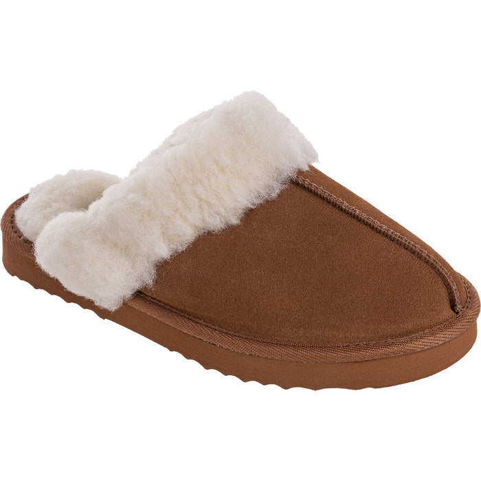 MOLS Tamara W Warm Slipper Shoes 5006 Sudan Brown