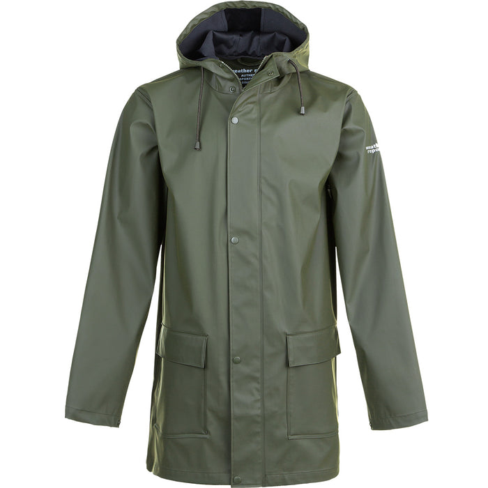 WEATHER REPORT Torsten M Rain Jacket AWG 3052 Forest Night