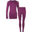 VERTICAL Triniti W seamless underwear Ski underwear 4078 Dark Purple