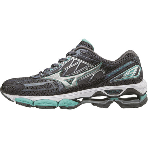 MIZUNO Wave Creation 19 W Shoes Magnet/Silver/Turq