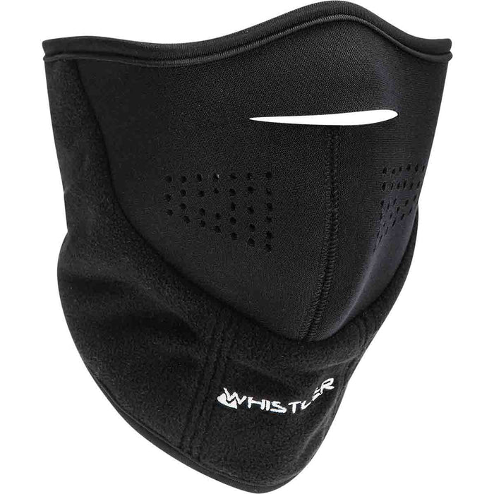WHISTLER Taupo Windstop Facemask w/Velcro Accessories 1001 Black