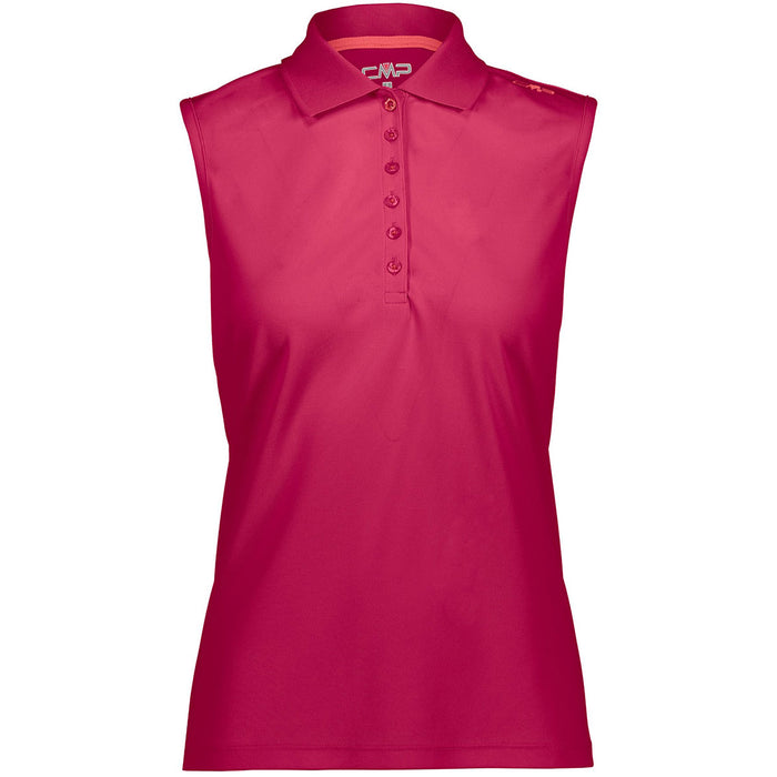 CMP Woman Functional Polo Top (UPF 40) Polo 41CC Ibisco - Corallo