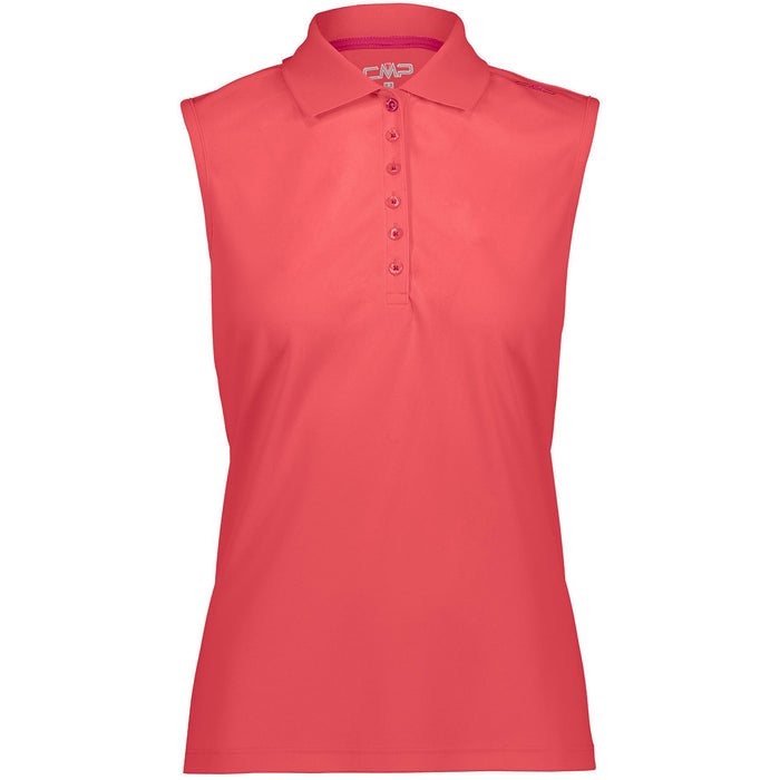 CMP Woman Functional Polo Top (UPF 40) Polo C712 Corallo