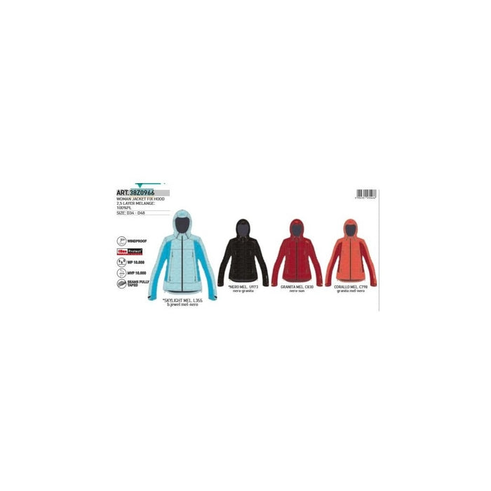 CMP Woman Jacket Fix Hood Jacket