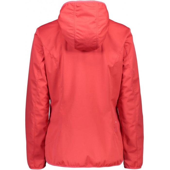 CMP Woman Jacket Fix Hood Jacket C712 Corallo