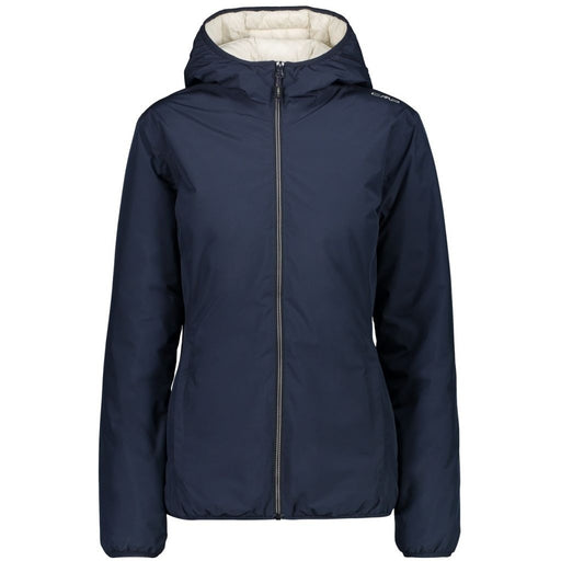 CMP Woman Jacket Fix Hood Jacket 52BL B.Blue-Rock