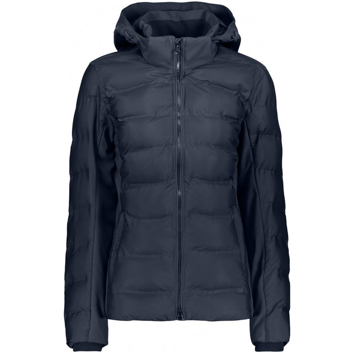 CMP Woman Jacket zip hood light Jacket N950 Black Blue