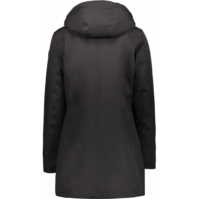 CMP Woman Parka Fix Hood - WP10000 Parka U901 Nero