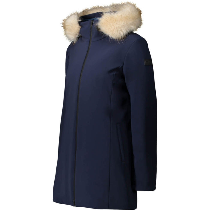 CMP Woman Parka L-Softshell WP5000 Parka N950 Black Blue