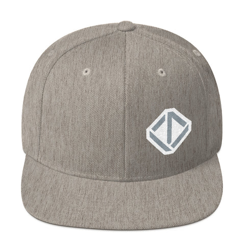 Upventur Snapback Hat - Heather Grey