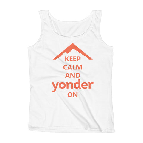 Yonder Ladies' Keep Calm Tank Top