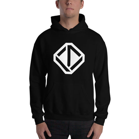 Upventur Hooded Sweatshirt - Black or Dark Blue