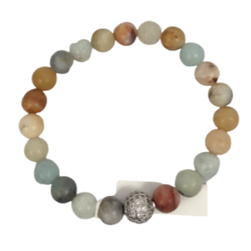 Multicolored Stone Bracelet