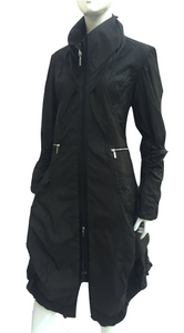 V538 - 23 (Black) Raincoat