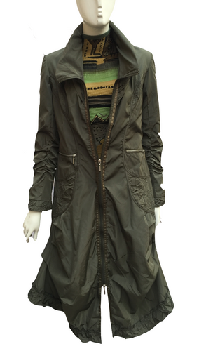 V538 - 30 (Olive Green) Raincoat