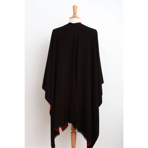 Emma Cape: Black/Bordeaux