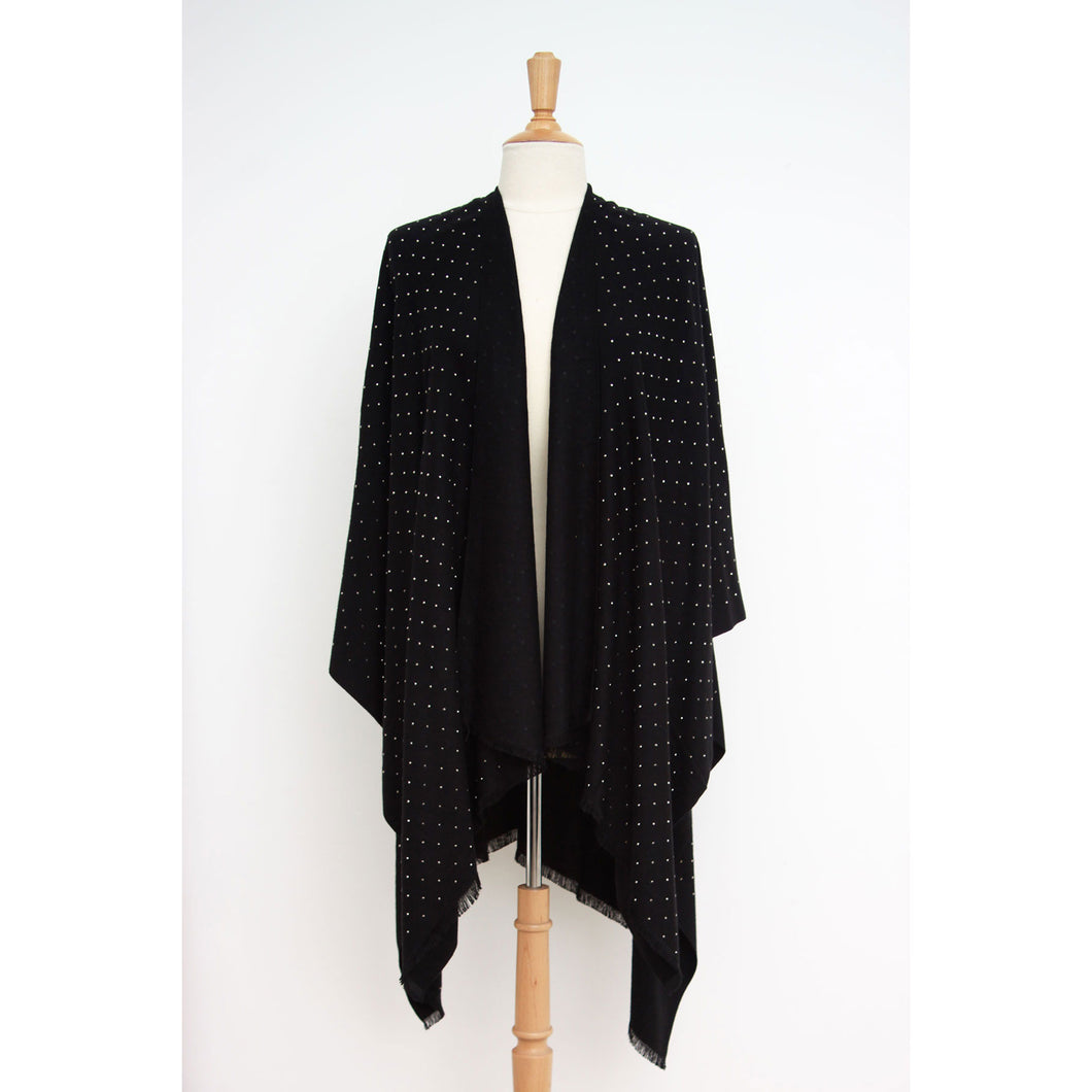Bling Bling Cape: Black