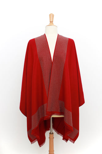 Chloe Cape: Red