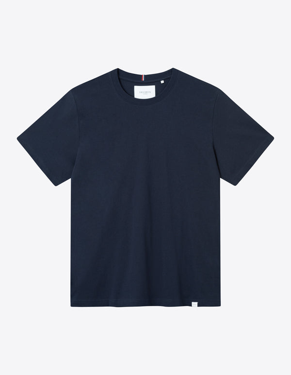 Les Deux MEN Marais T-Shirt T-Shirt 460460-Dark Navy