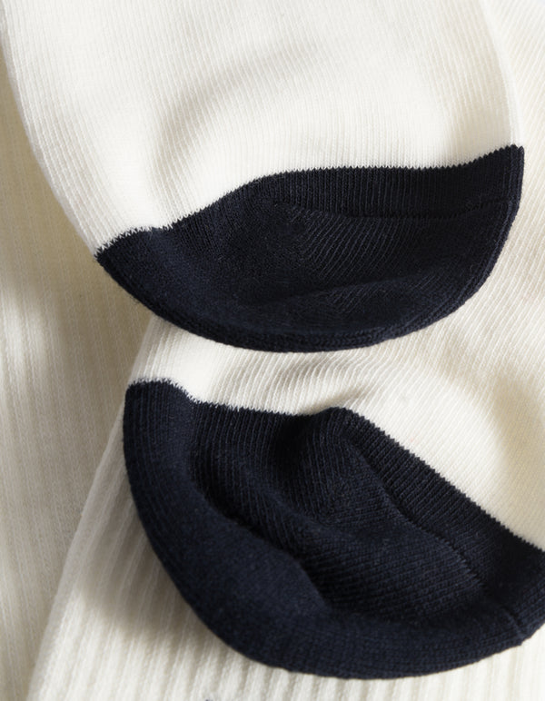 Les Deux MEN William 2-Pack Socks Accessories 241460-Off White/Navy