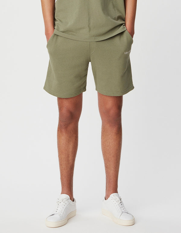 Les Deux MEN Pompei Sweatshorts Shorts 510510-Lichen Green