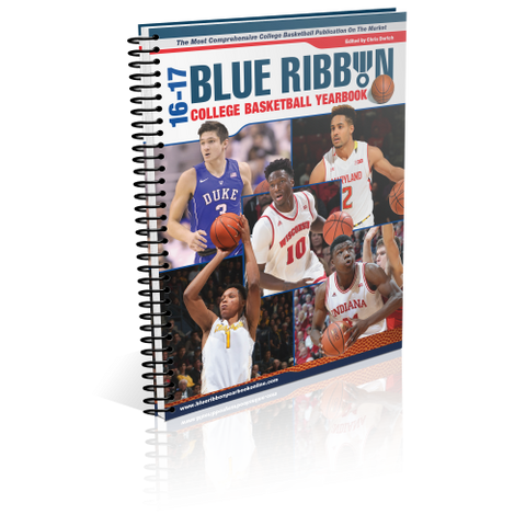 2016 to 2017 Basketball Yearbook Spiral Bound