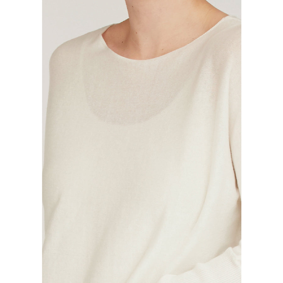 Bozena Knit Pullover - Broken White