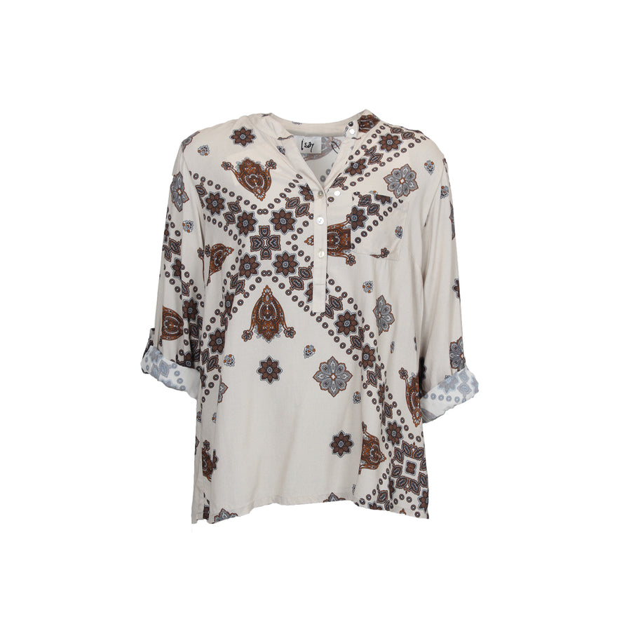 Fenja Shirt - Summer Brownie